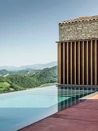 Landscape House Gga U0027s Ap House Elegantly Harmonised With Their Stone Shell Within