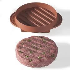 backyard grill stuffed burger press amazon com nordic ware 365 indoor outdoor stuffed burger maker