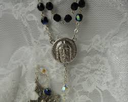 chaplet of the holy holy rosary etsy