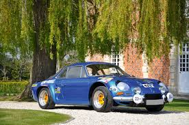 renault alpine classic 1961 alpine a 110 1600 groupe iv ex works classic driver market