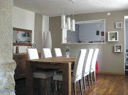 cuisine blanc cérusé table de salle a manger ceruse salle a manger blanc vieilli chaios