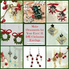 make ornaments for your ears diy earrings for craft