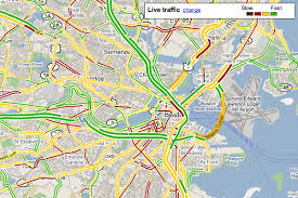 traffic map painting the traffic picture gps review