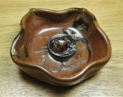 antique cat ring holder images Cat face dish etsy jpg