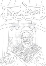 coloring pages of scary clowns tons here colouring pinterest scary clowns scary and