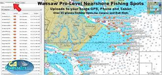 Jekyll Island Map Wassaw Island Fishing Spots And Fishing Map