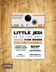 Star Wars Baby Shower Invitations - star wars baby shower invitation by preparingforpeanut on etsy