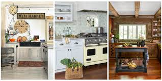 country style kitchen furniture 18 farmhouse style kitchens rustic decor ideas for kitchens