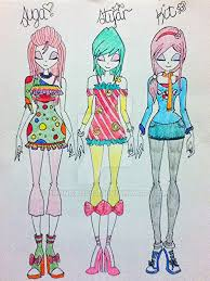 themed clothes candy themed by broncat563 on deviantart