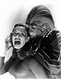 1957 u0027s i was a teenage werewolf dawn richard attack b w 8x10