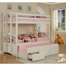 Bunk Beds With Trundle Bed Bunk Beds With Trundle Picture On Amusing Plans And
