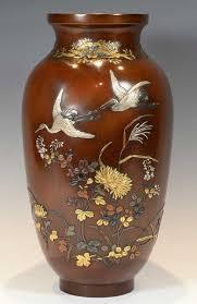 Japanese Flower Vases Antique Japanese Vases The Uk U0027s Premier Antiques Portal Online