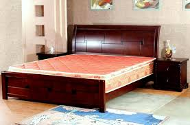 Double Bed by Winsome Modern Double Bed With Storage Drawers Double Bed With