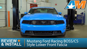 2012 mustang gt saleen grille 2010 2012 mustang ford racing cs style lower front fascia gt