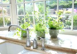 kitchen window decorating ideas kitchen garden window ideas swebdesign