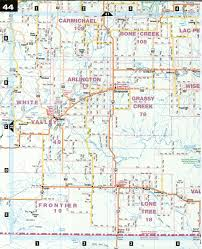 Canada Highway Map by Estend And Shaunavon