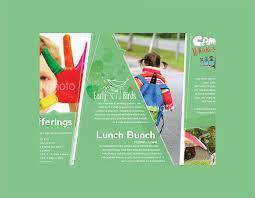 sample preschool brochure child day care brochure designs free