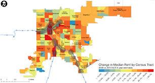 denver light rail expansion map mapping denver transit expansion drives higher rents