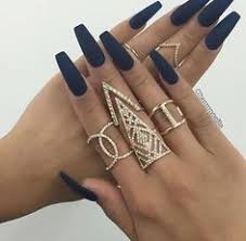 17 manicures that will have you mad about matte acrylics makeup