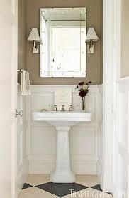 Powder Room Sink Create A Smashing Powder Room Traditional Home