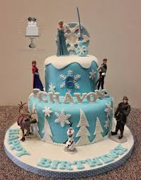 delectable delites disney frozen theme cake
