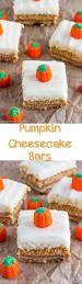 easy pumpkin cheesecake bars recipe