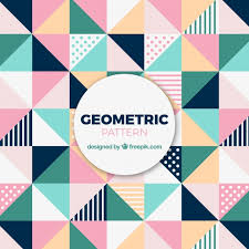 triangle pattern freepik cute pattern of colored triangles vector free download