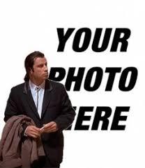 Meme Generator White Background - online meme of john travolta confused to put your background image t