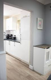 white gloss kitchen doors cheap how to wrap a kitchen door with fablon the carpenter s