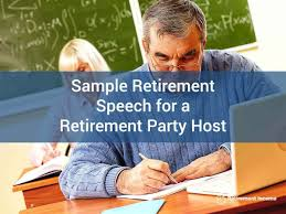 sample retirement speech tips on how to craft a retirement
