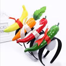 fruit headband colorful fruits vegetables headband hair band women headwear