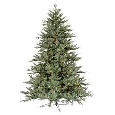 7 5 pre lit blue noble fir artificial tree warm white