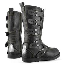 mens high heel motorcycle boots icon 1000 elsinore johnny black u2026 icon 1000 go fast look