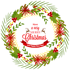 christmas wreath with mistletoe png clipart best web clipart