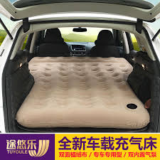 car inflatable bed suv car mattress in rear travel bed car air bed