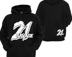 21 savage hoodie etsy