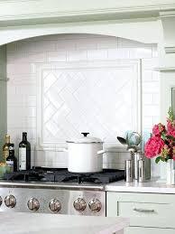 Cottage Kitchen Backsplash with Tile Backsplash Ideas For Behind The Range Kitchen Backsplash