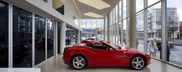 ferrari dealership showroom ferrari maserati of vancouver nanawall