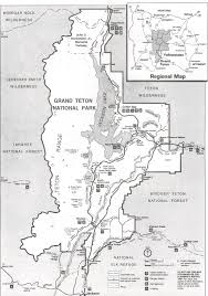 Yellowstone Park Map Fly Fishing Maps For Yellowstone Teton Park And The Surrounding Area