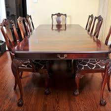 used bernhardt dining room furniture antique bernhardt bernhardt dining room set ebth