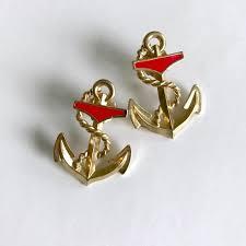 anchor earrings vintage jewelry nautical anchor earrings poshmark