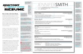 resume exles for 3 the anatomy of a really résumé a résumé exle the