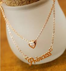 princess necklace images Dazzling princess fashion necklace lilyfair jewelry jpg