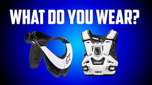 motocross safety gear motocross protection what do you wear youtube
