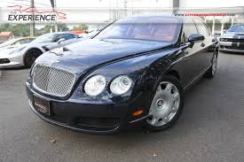 bentley continental flying spur used blue 2006 bentley continental flying spur for sale gold