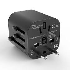 Travel adapter worldwide all one universal adaptor wall ac power