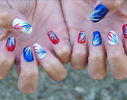 4th of july nails easy easy 4th of july nail designs easy nail