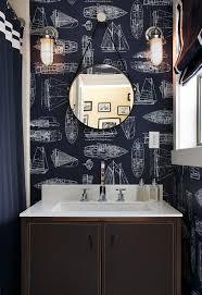 lighting ideas brushed nickel wall sconces above bathroom vanity