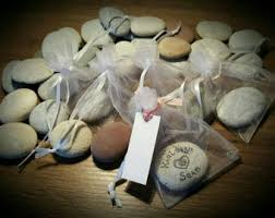 signing rocks wedding guest book wish stones sign etsy