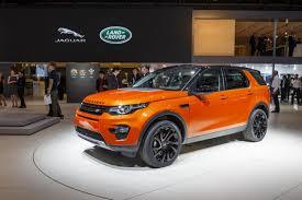 land rover orange jaguar land rover trims french dealer network fleet europe